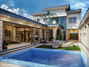 Строительство коттеджей под ключ позволяет без усилий, быстро и экономно иметь собственное жилое пространство